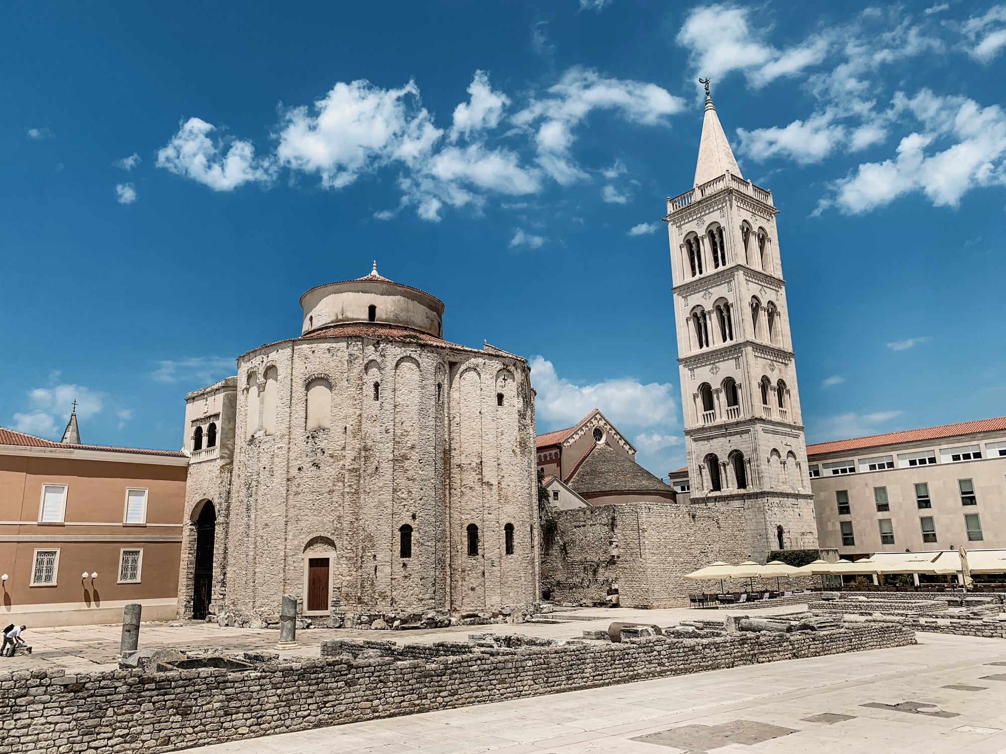 Sv Donat Kirche in Zadar