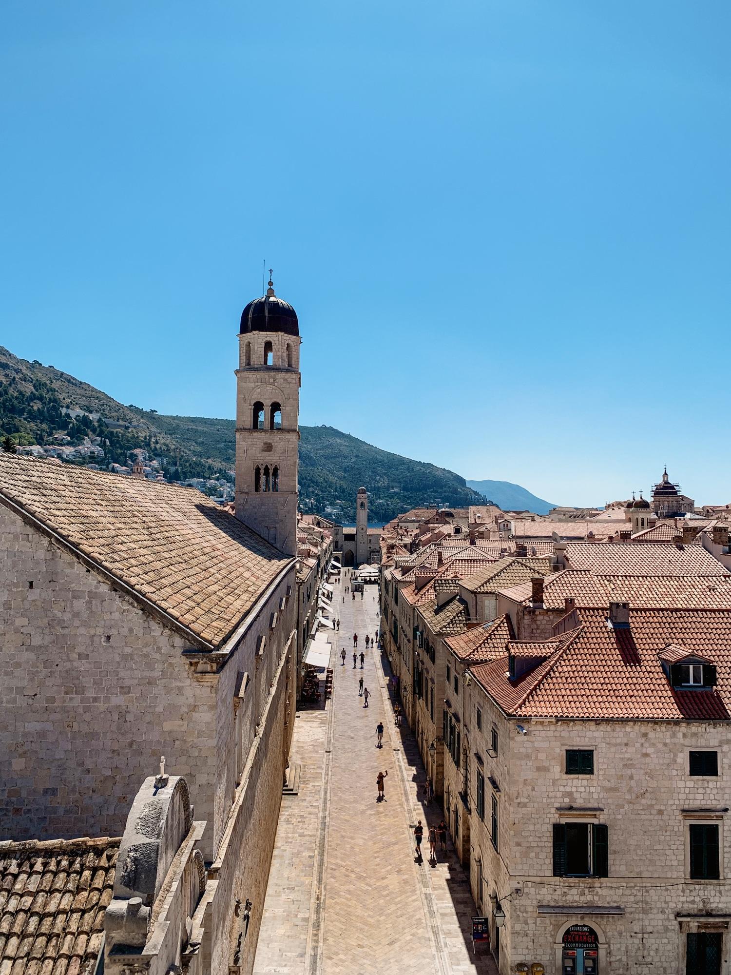 Dubrovnik Sehenswürdigkeiten Top 10: Meine Highlights und Tipps - Stradun Boulevard