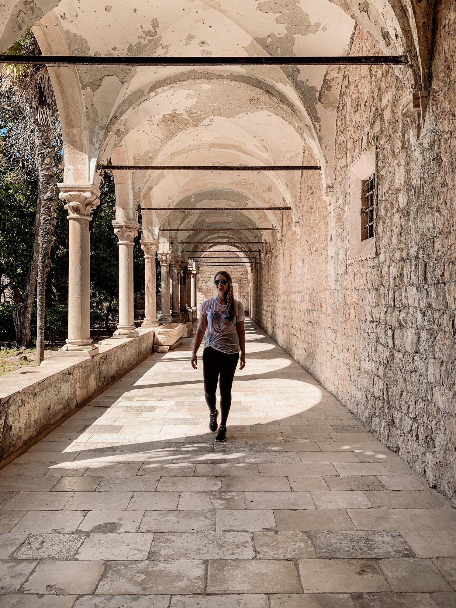Dubrovnik Sehenswürdigkeiten Top 10: Meine Highlights und Tipps - Insel Lokrum Game of Thrones Kloster