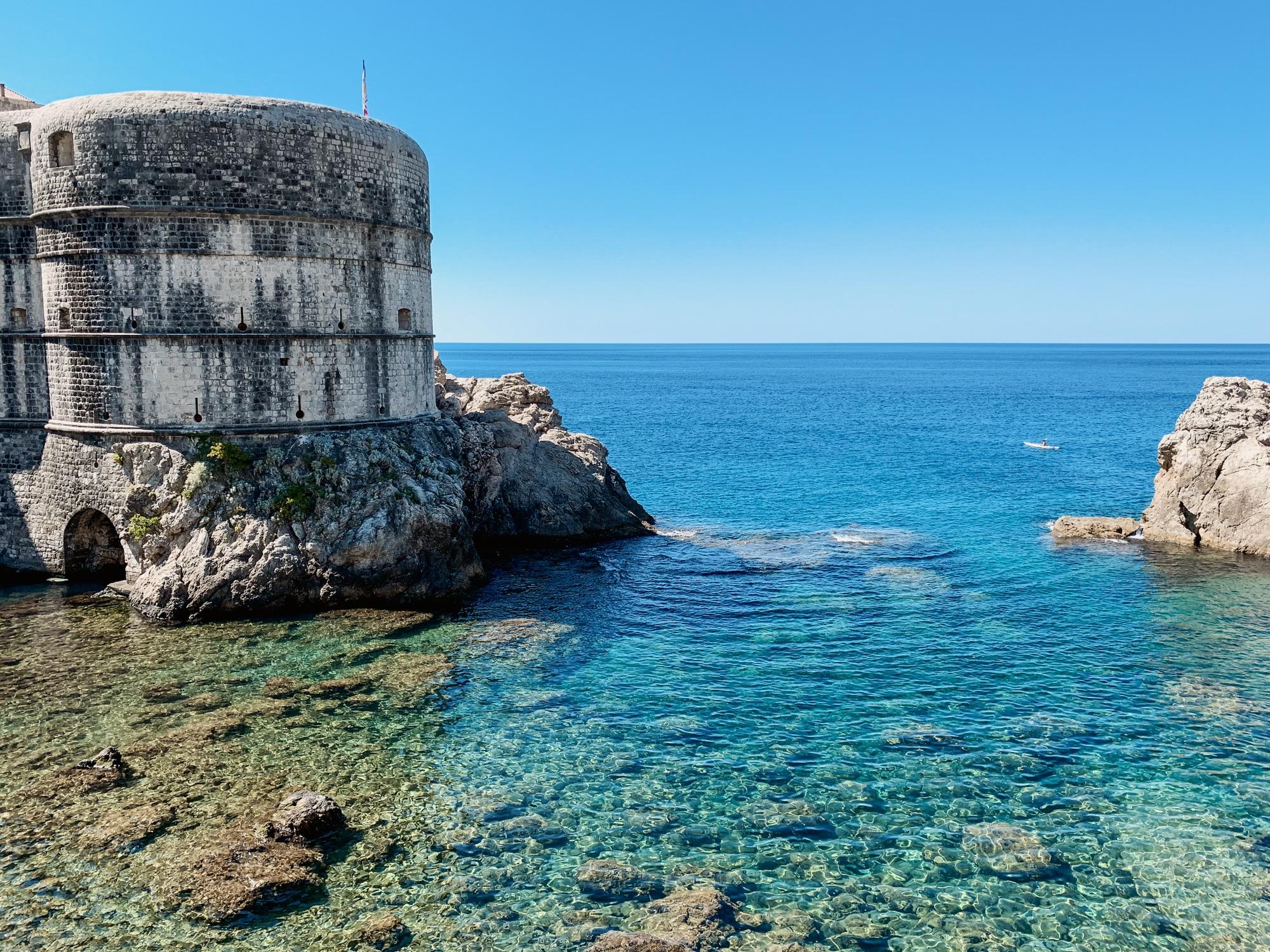 Dubrovnik Sehenswürdigkeiten Top 10: Meine Highlights und Tipps - Stadtmauern Rundgang, Blackwater Bay