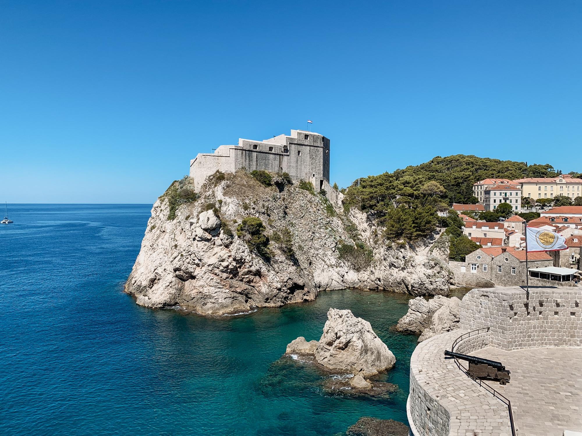 Dubrovnik Sehenswürdigkeiten Top 10: Meine Highlights und Tipps - Tvrwava Lovrijenac Festung