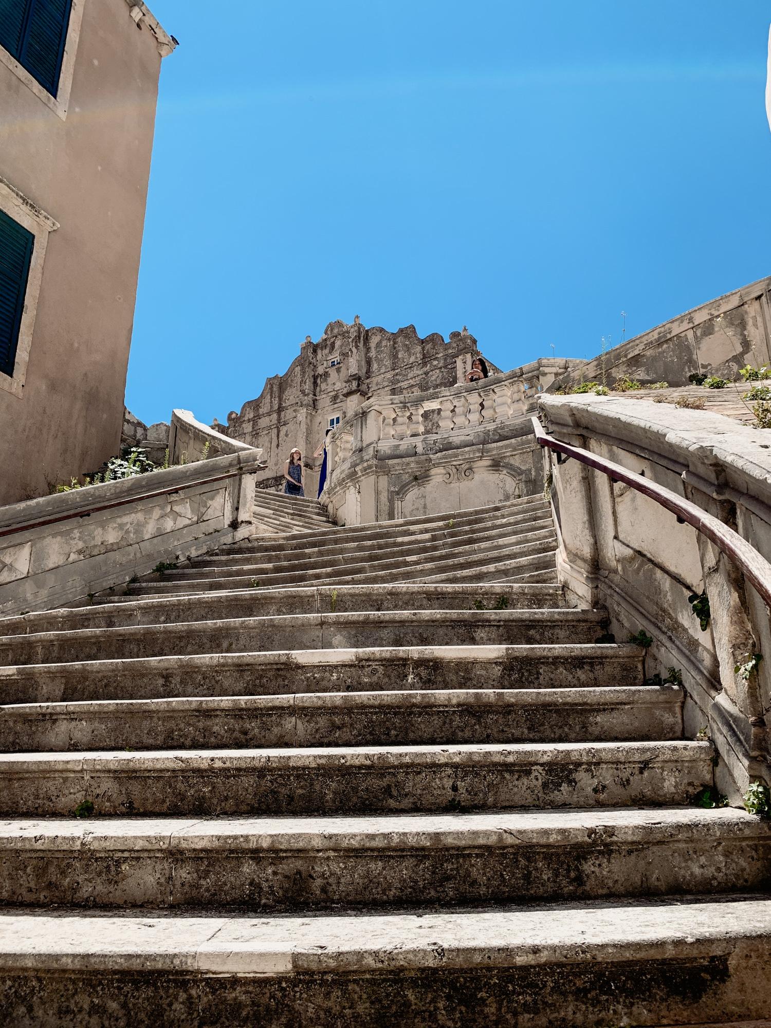 Dubrovnik Sehenswürdigkeiten Top 10: Meine Highlights und Tipps - Jesuitentreppe, Walk of Shame