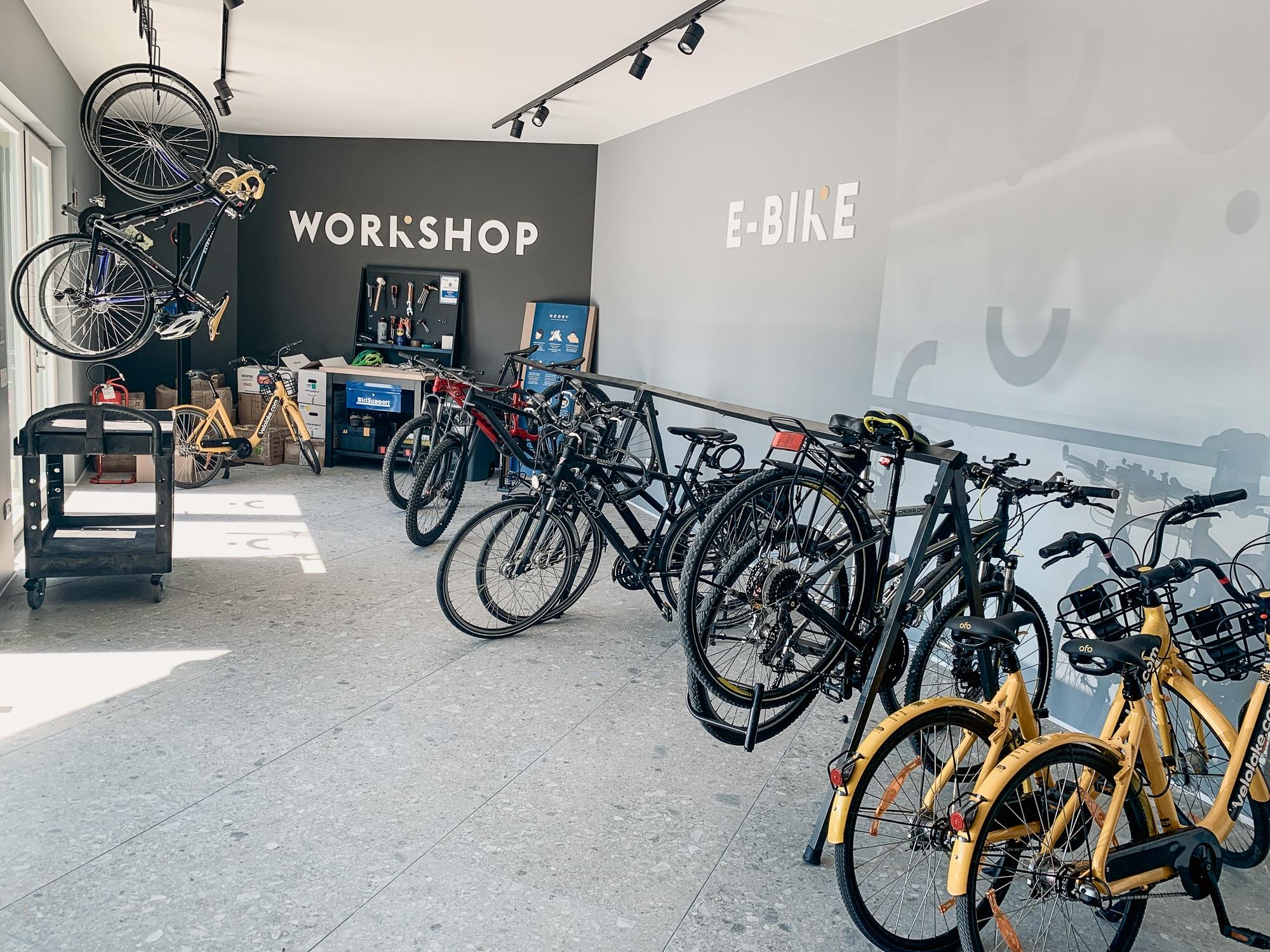 Hoody Hotel: Meine Erfahrungen im Gardasee Active & Happiness Hotel - Fahrradraum