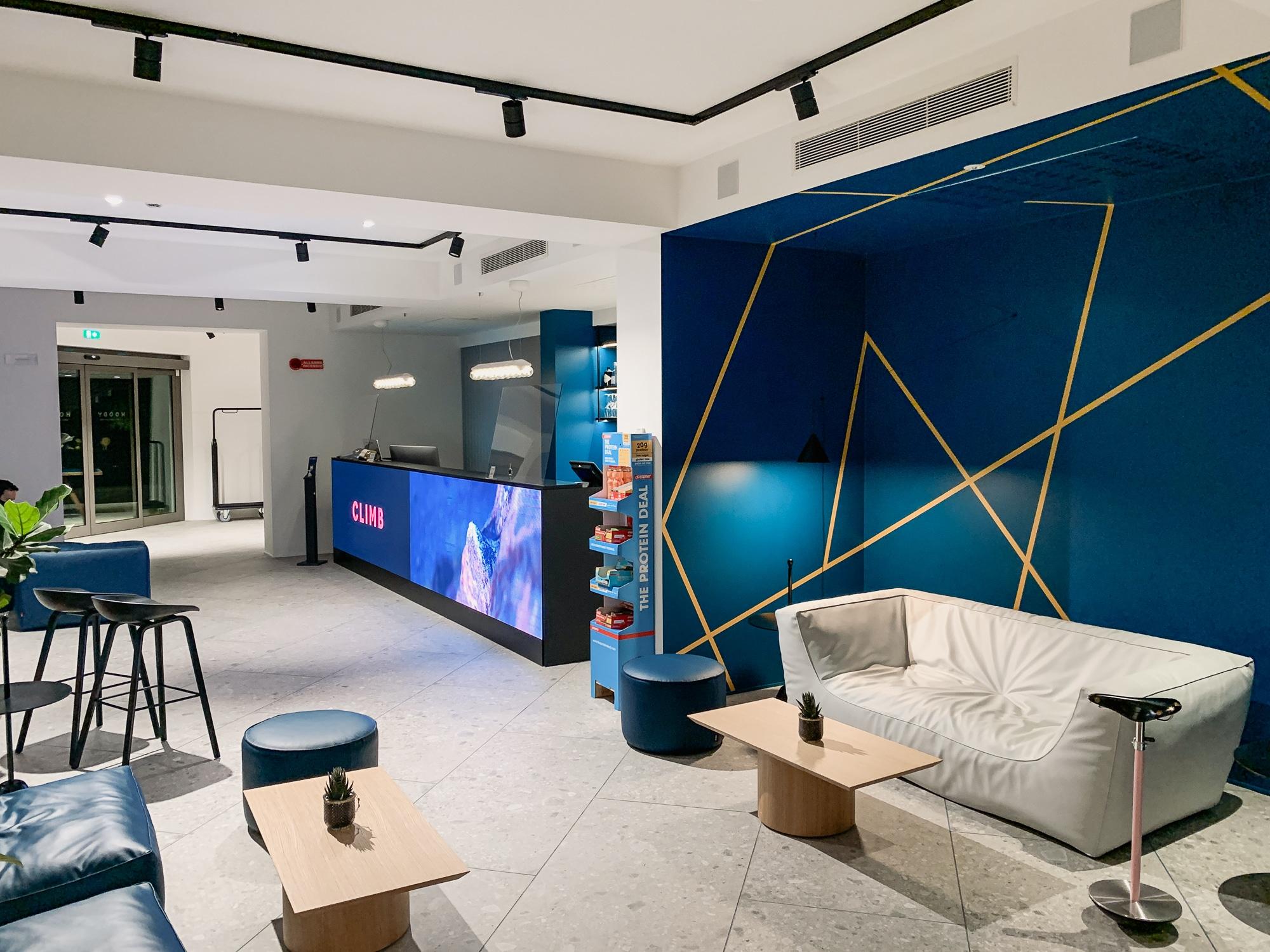 Hoody Hotel: Meine Erfahrungen im Gardasee Active & Happiness Hotel - Lobby