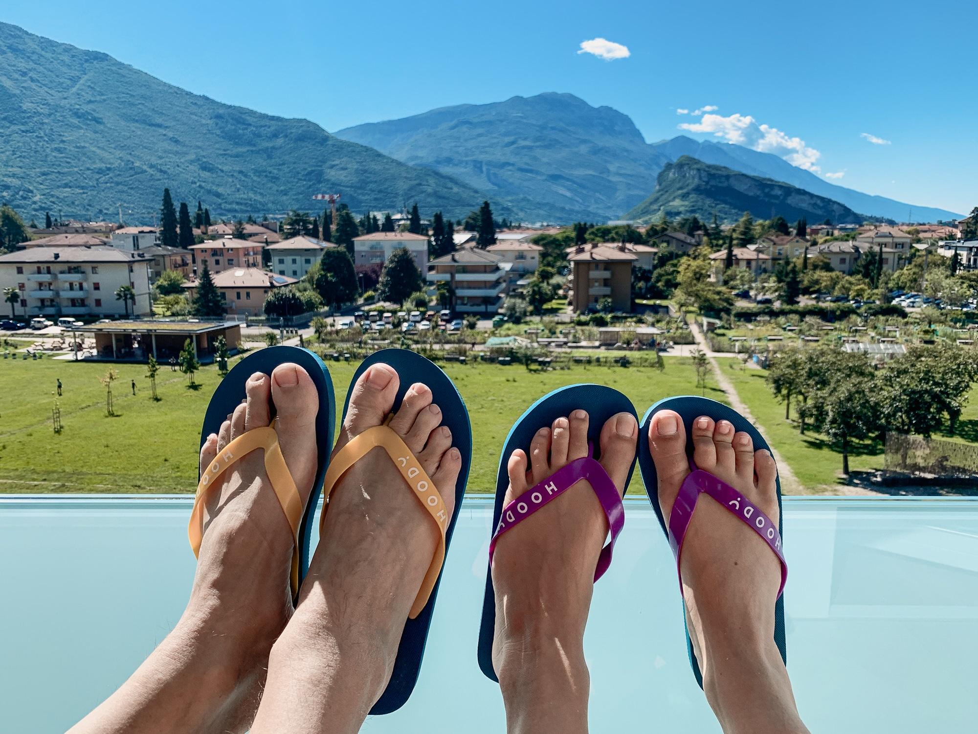 Hoody Hotel: Meine Erfahrungen im Gardasee Active & Happiness Hotel - Wellnessbereich mit Sauna und Jacuzzi