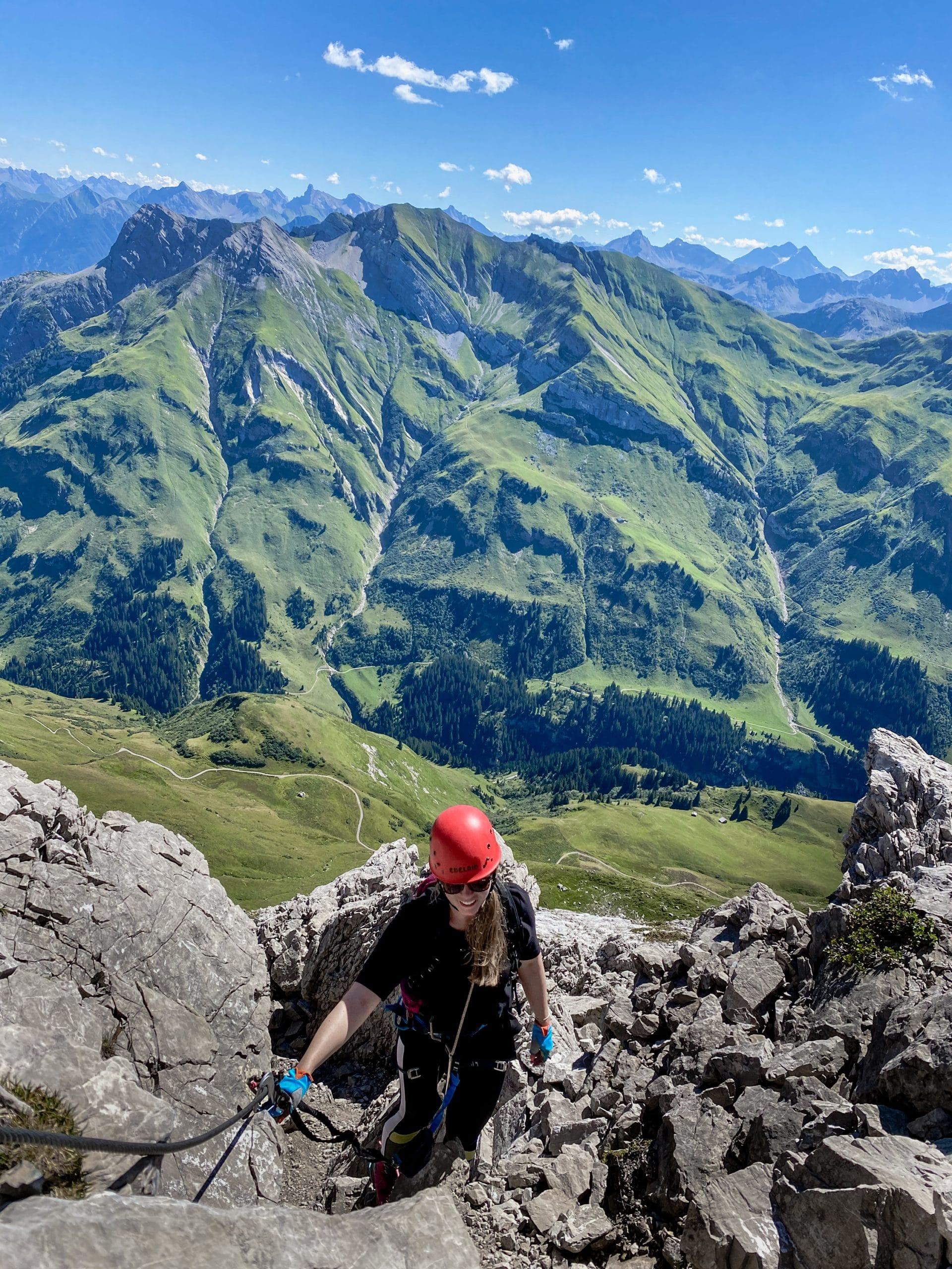 Warth-Schröcken: Outdoor Big 5, schönste Wanderungen und alle Tipps - Karhorn Klettersteig