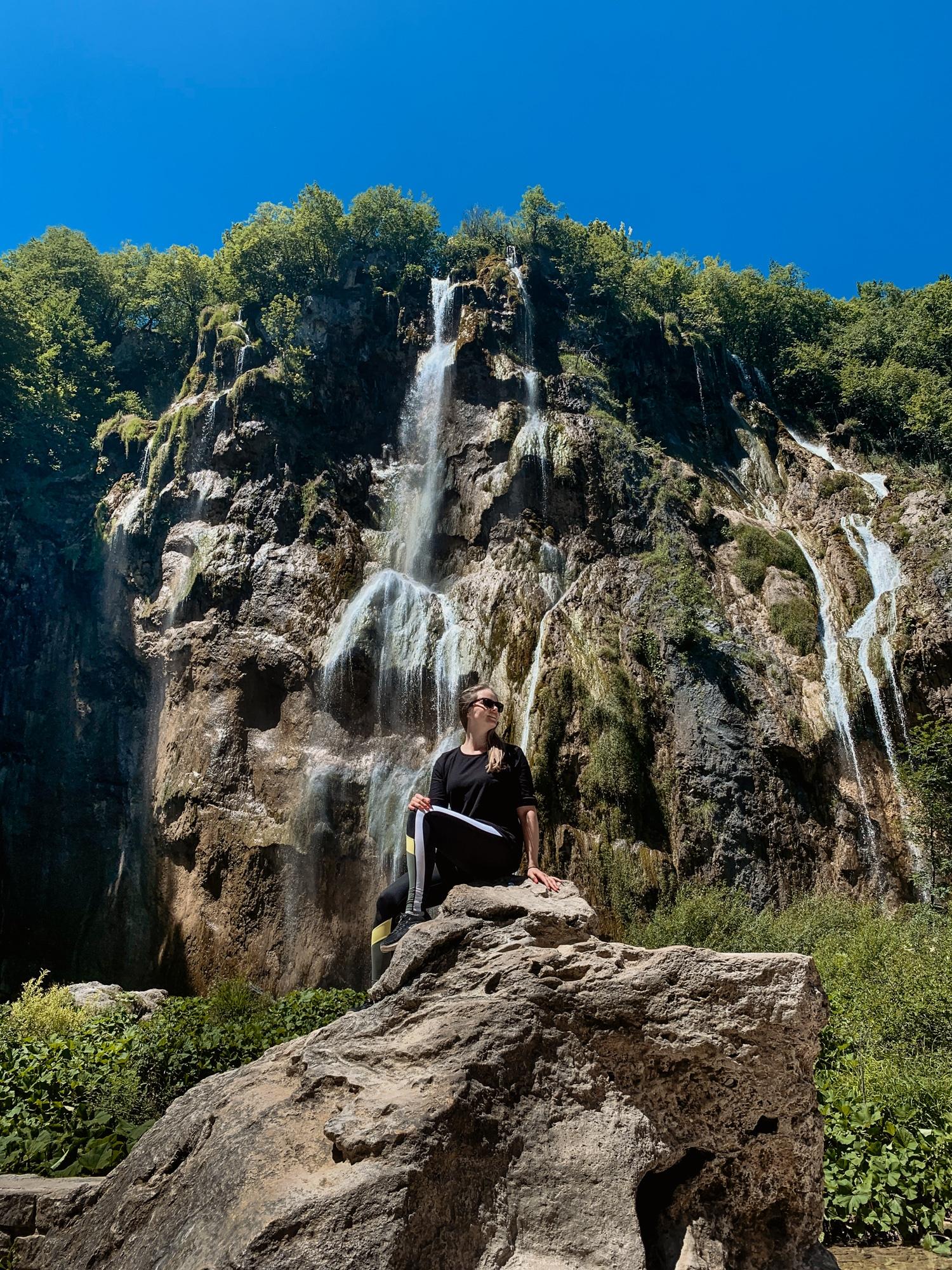 Nationalpark Plitvicer Seen: Tipps für den schönsten Kroatien Nationalpark - Wasserfall Veliki Slap