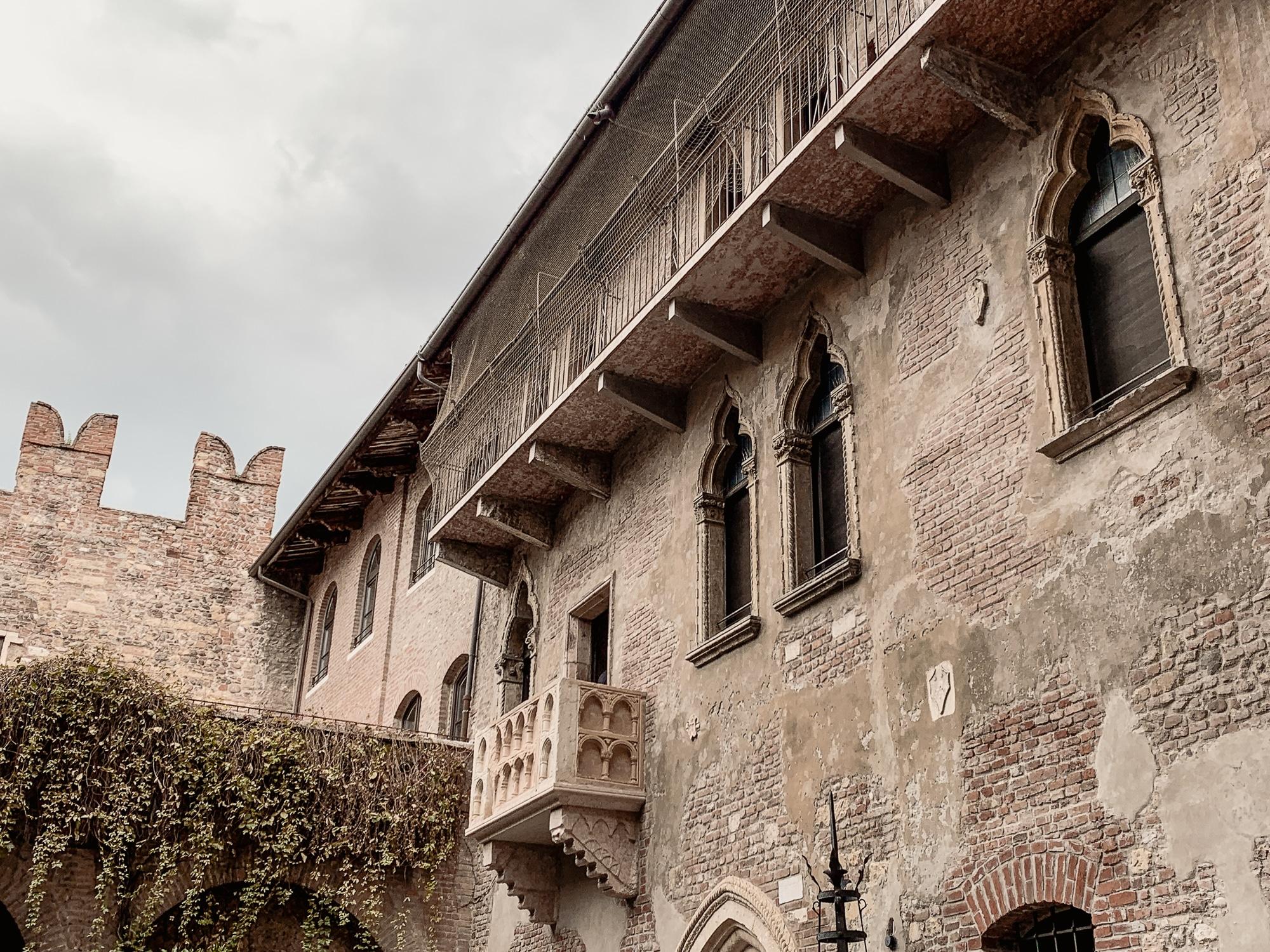 Verona Sehenswürdigkeiten - Julias Balkon