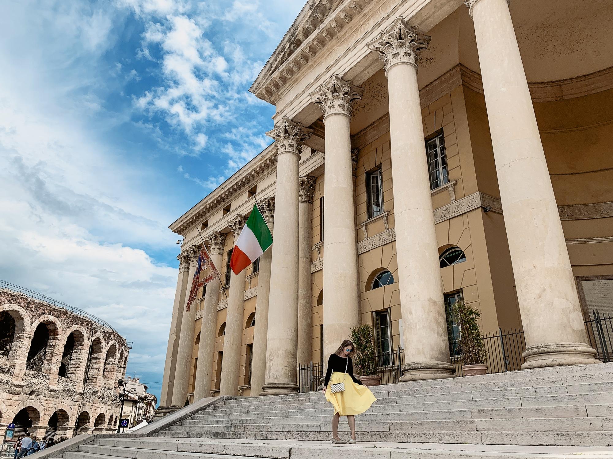 Verona Sehenswürdigkeiten - Palazzo Barbieri