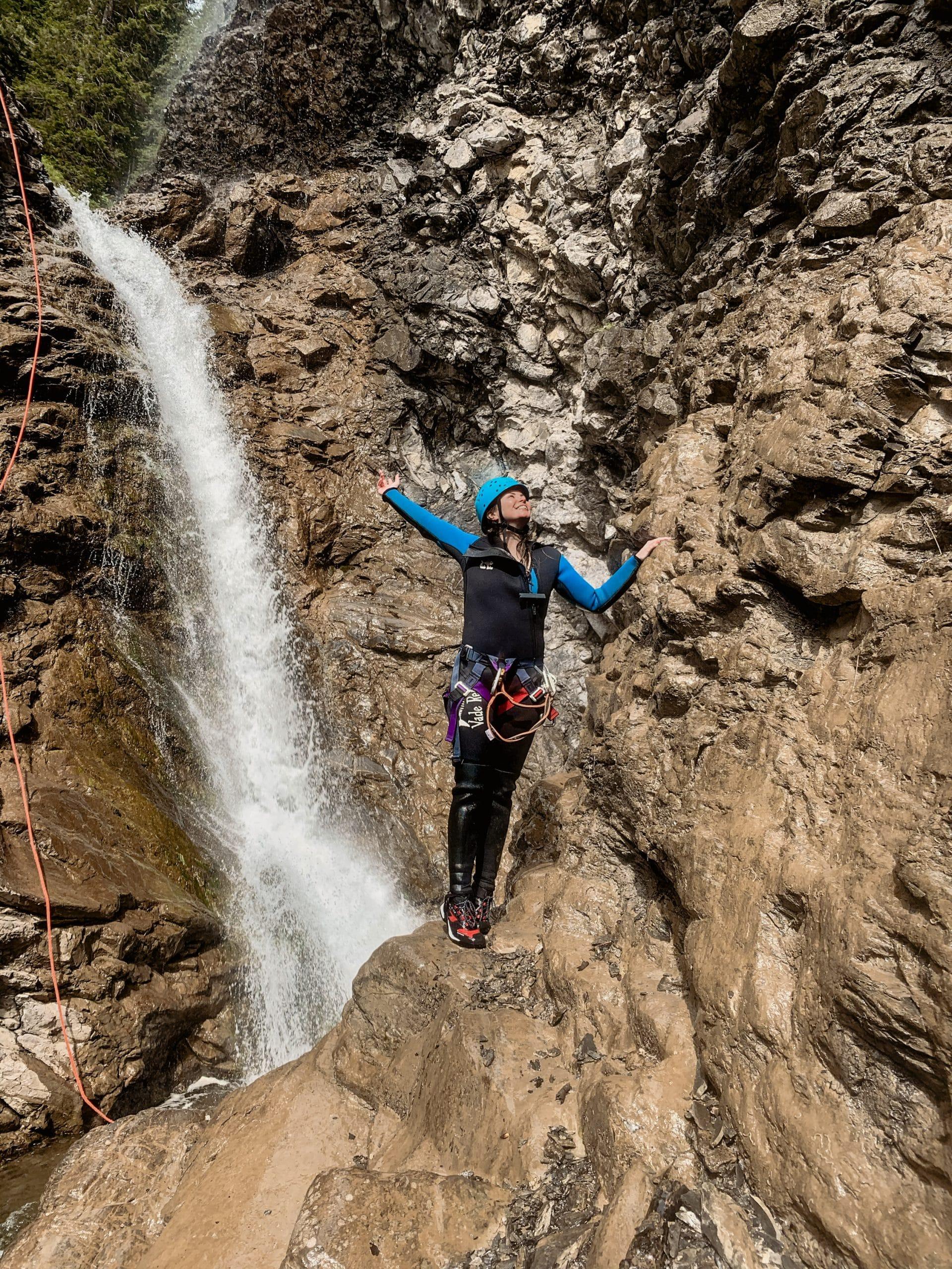 Warth-Schröcken: Outdoor Big 5, schönste Wanderungen und alle Tipps - Canyoning