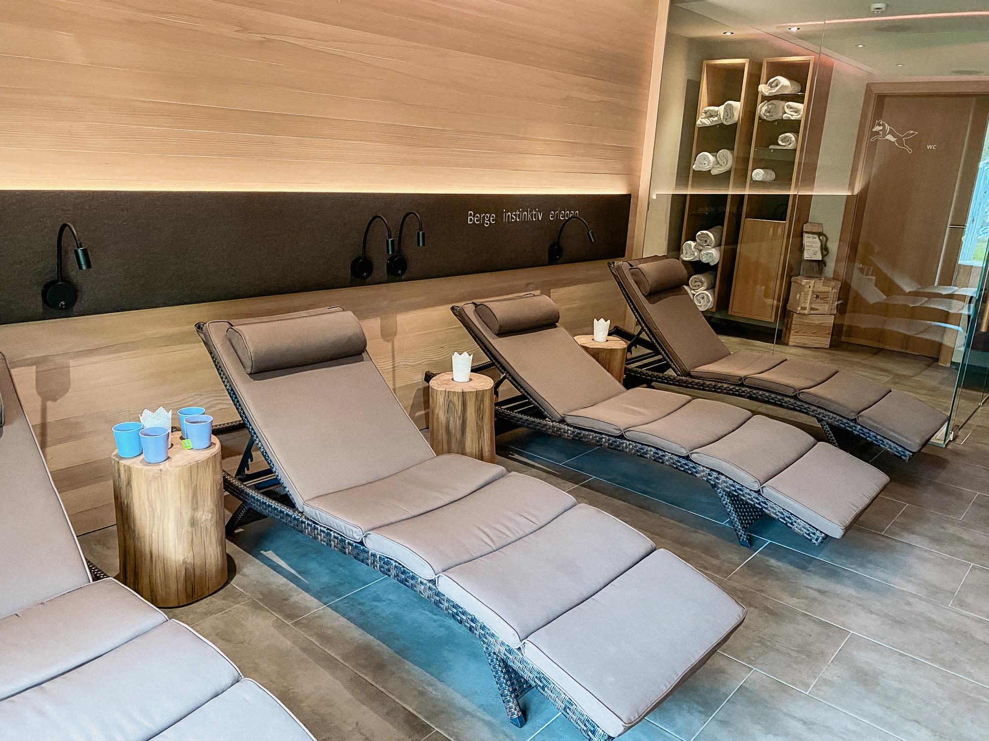 Warth-Schröcken: Outdoor Big 5, schönste Wanderungen und alle Tipps - Wolfegg Appartement Wellnessbereich
