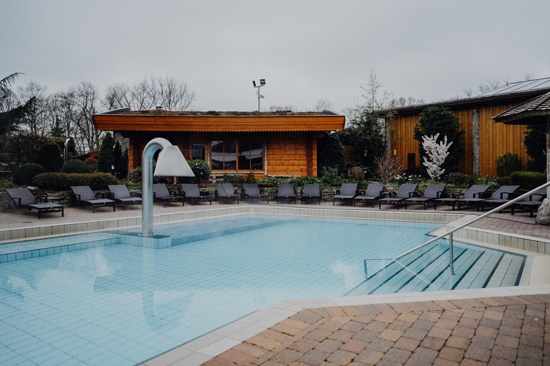 Saunawelt H2O in Herford: Meine Erfahrungen in der Saunalandschaft - Außenpool