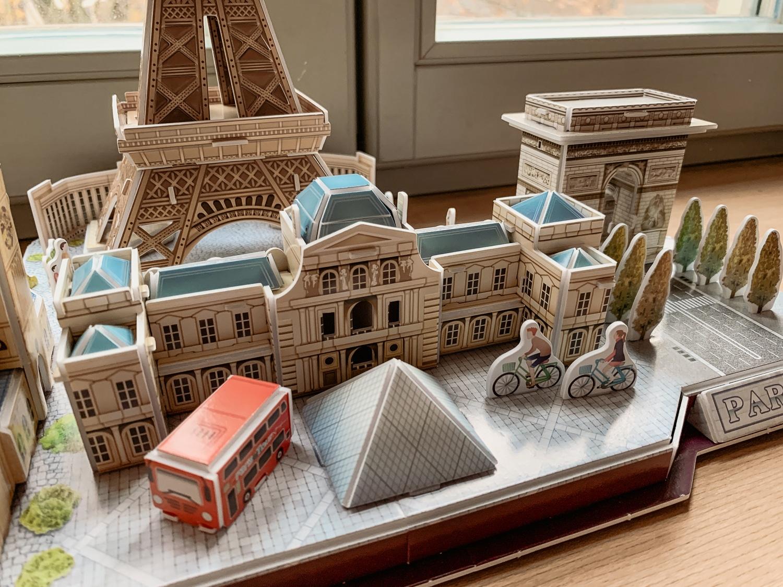3D Puzzles von Revell: Meine Erfahrungen beim Bau der Pariser Skylline