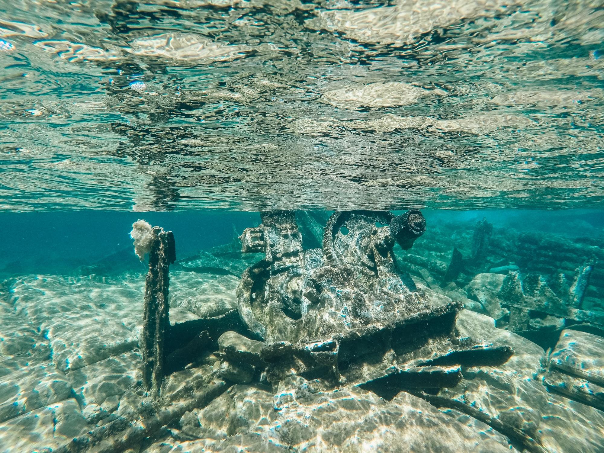 Schönste Strände auf Kreta: Das sind die sechs schönsten Kreta Strände - Gramvousa Pirateninsel Schiffswrack schnorcheln