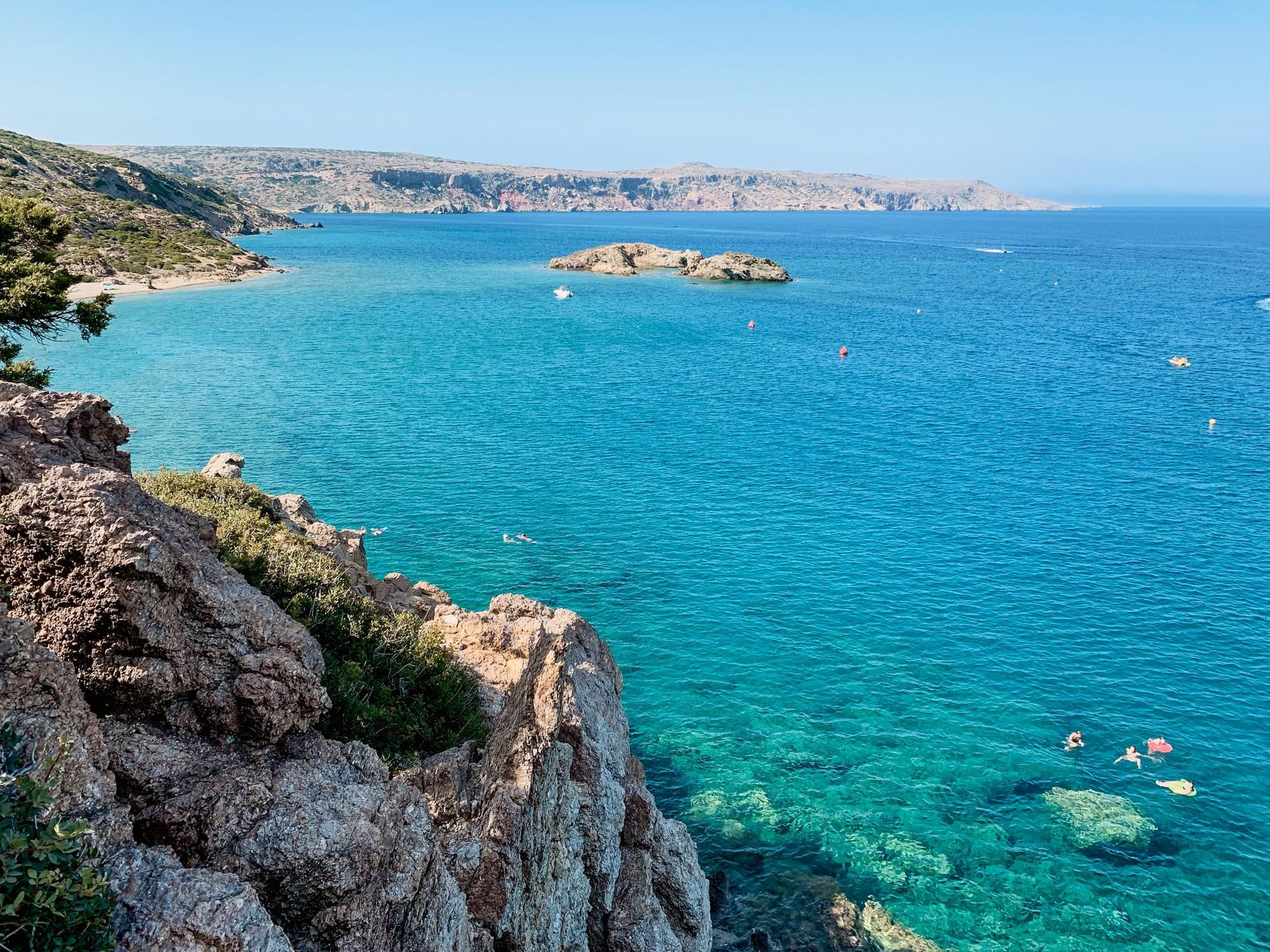 Schönste Strände auf Kreta: Das sind die sechs schönsten Kreta Strände - Psili Ammos Beach