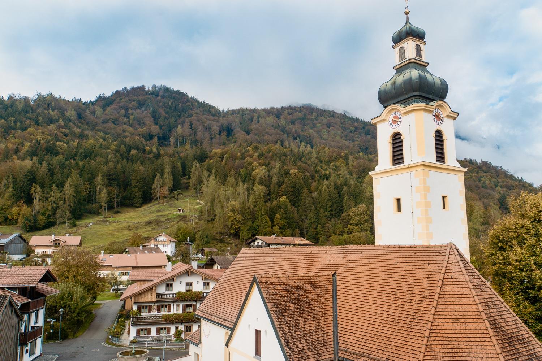 Oberaudorf: Sehenswürdigkeiten, Ausflüge und schönste Wanderungen - Kirche Niederaudorf