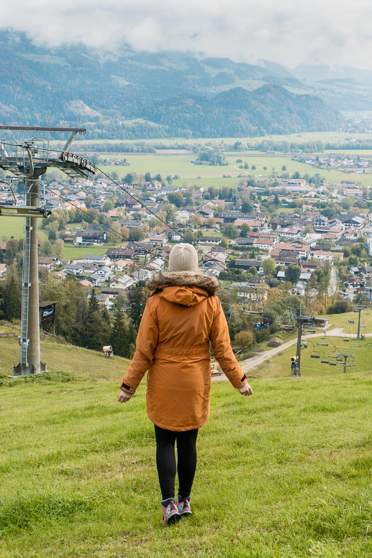 Oberaudorf: Sehenswürdigkeiten, Ausflüge und schönste Wanderungen - Hocheck Aussicht Mittelstation