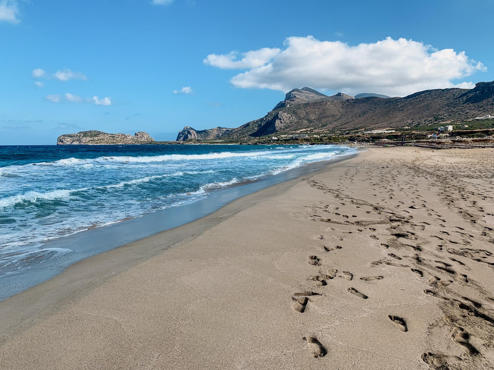 Schönste Strände auf Kreta: Das sind die sechs schönsten Kreta Strände - Falassarna