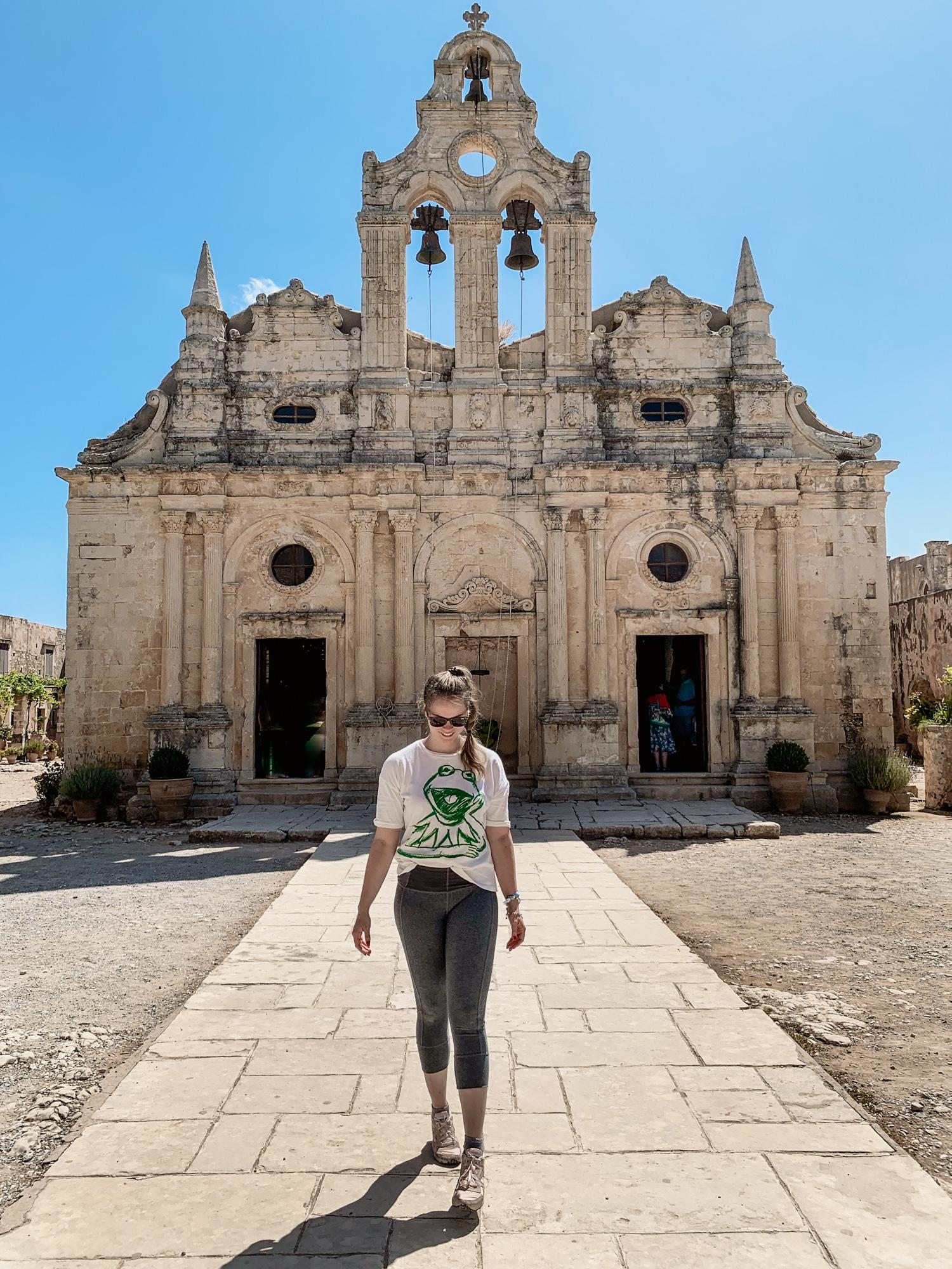 Kreta Rundreise Highlights und Tipps - Kloster Arkadi
