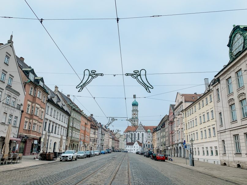 Augsburg Sehenswürdigkeiten - Maxstraße