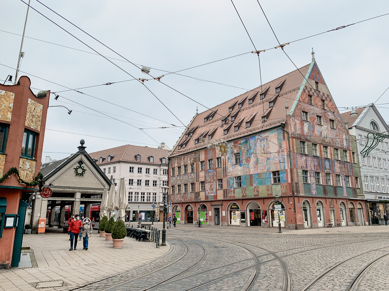 Augsburg Sehenswürdigkeiten: Moritzplatz
