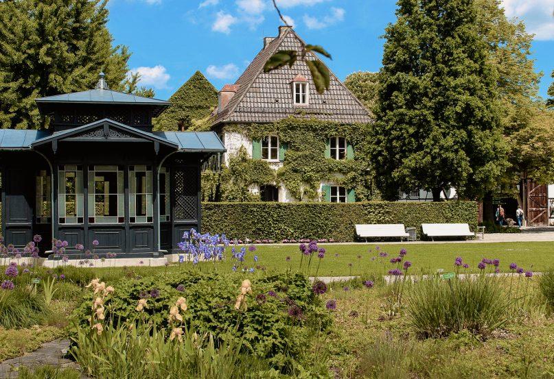 Augsburg Sehenswürdigkeiten: Botanischer Garten
