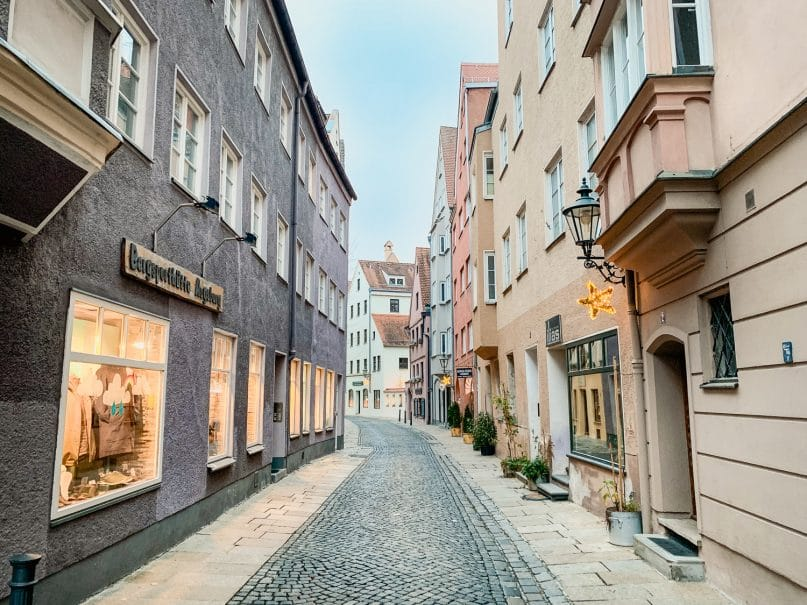 Augsburg Sehenswürdigkeiten: Historische Altstadt