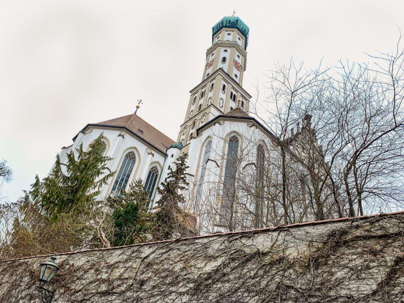 Augsburg Sehenswürdigkeiten: Basilika St Ulrich und Afra