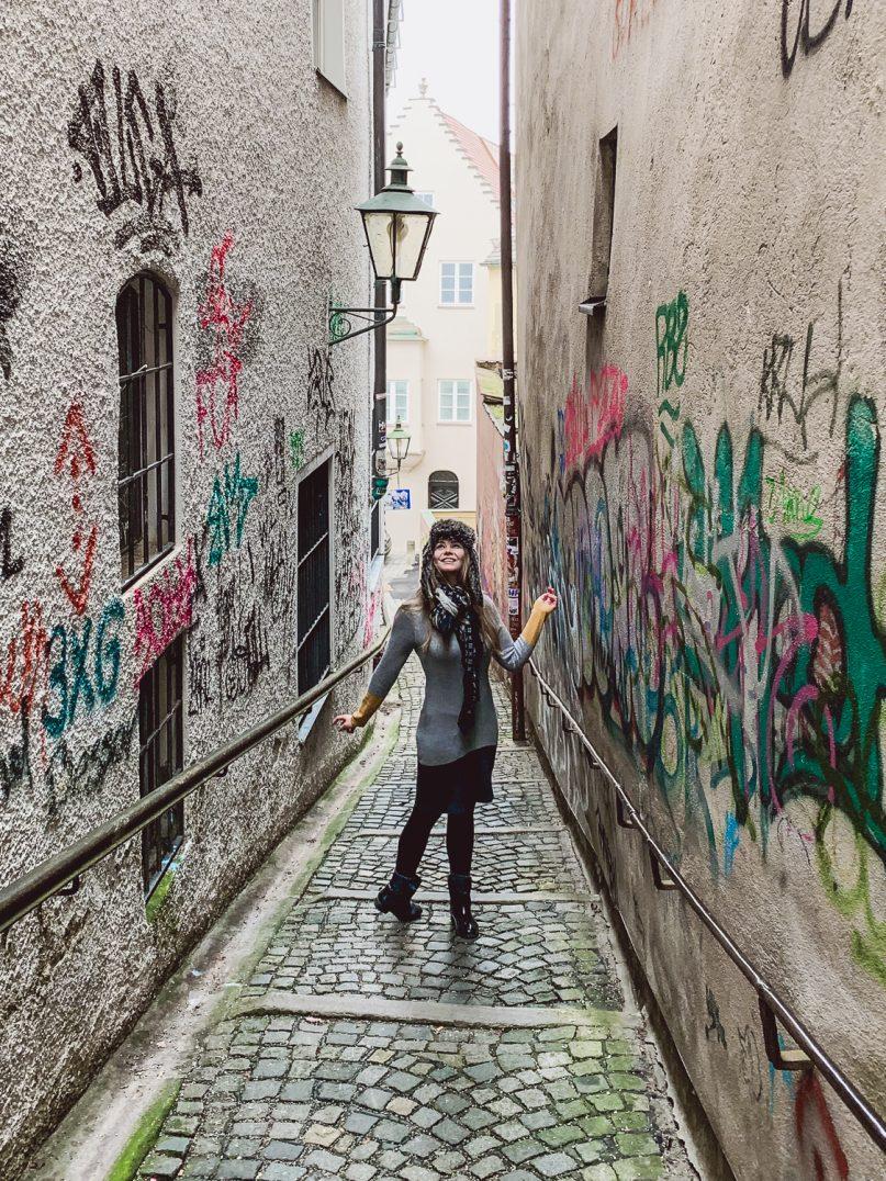 Augsburg Highlights: Graffiti Gasse Butzenbergle