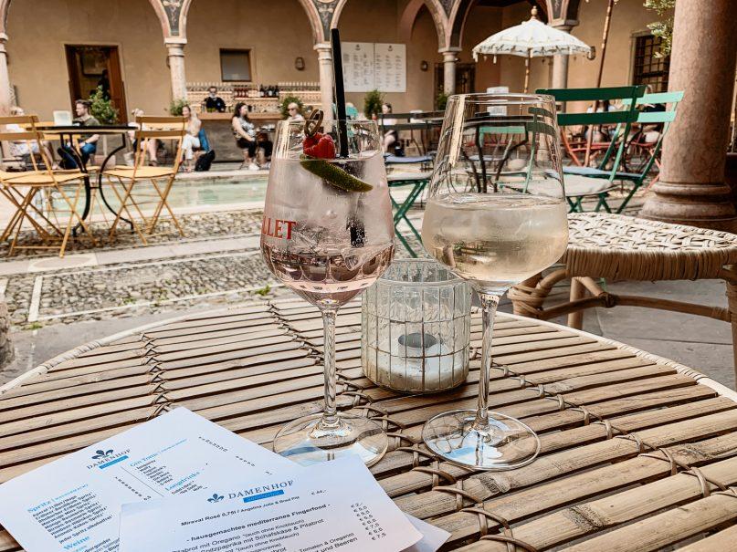 Augsburg schönste Restaurants und Bars - Damenhof