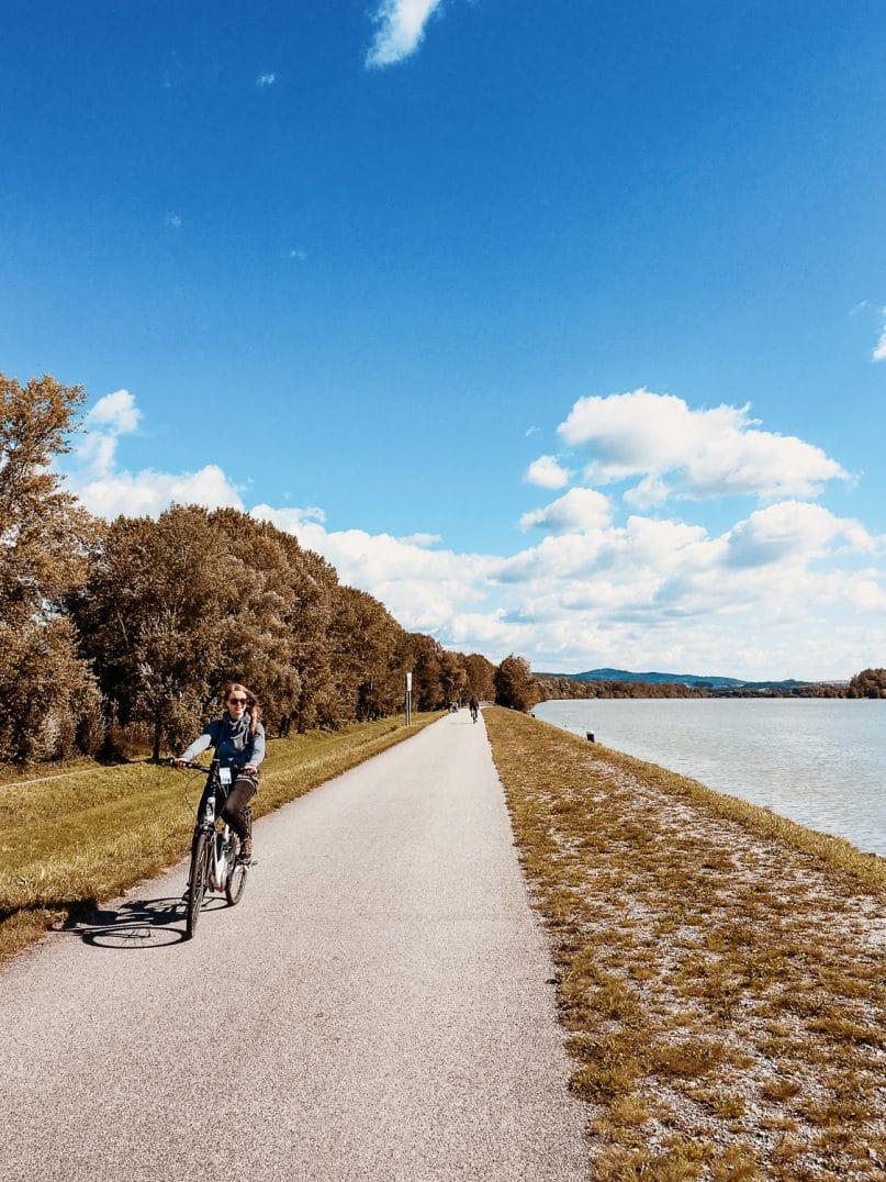 Outdooraktivitäten Österreich: Donauradweg