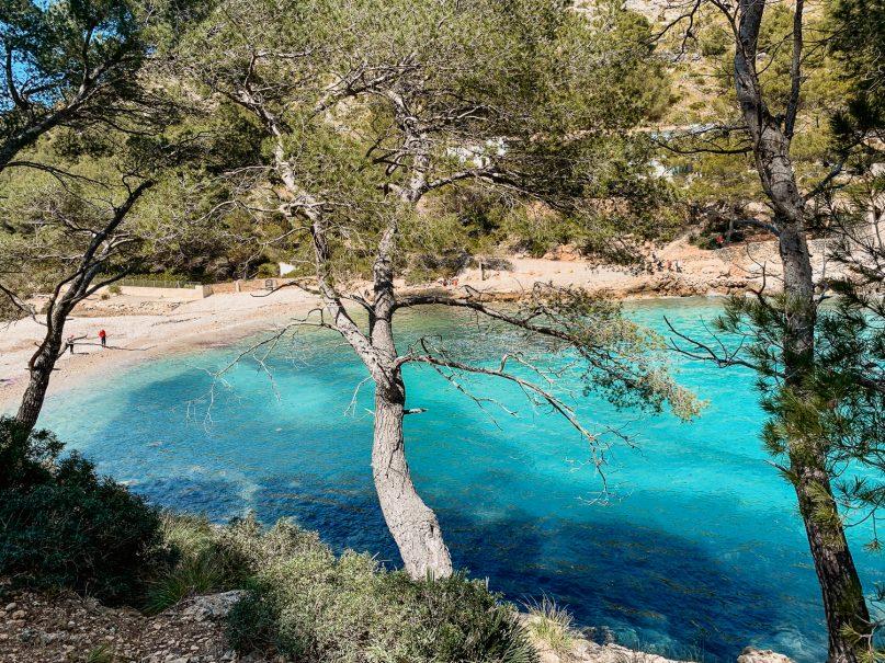 Wanderung zur Cala Murta Bucht mit dem Camí del Castellet - Mallorca Wanderungen
