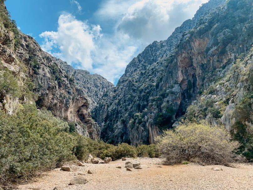 Schlucht Torrent de Pareis - schönste Wanderungen auf Mallorca