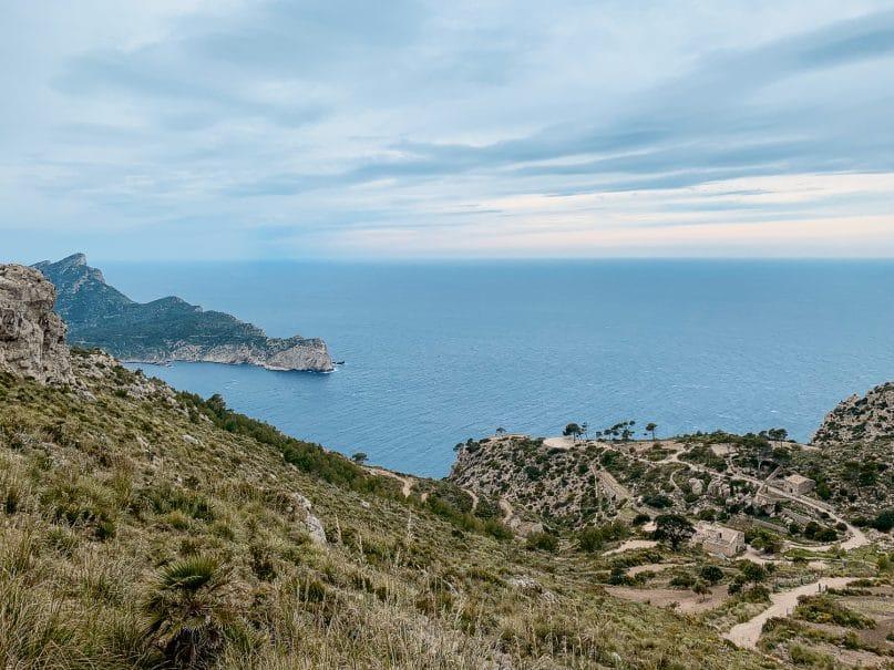Wanderung zur Cala Murta Bucht mit dem Camí del Castellet - schönste Wanderungen auf Mallorca