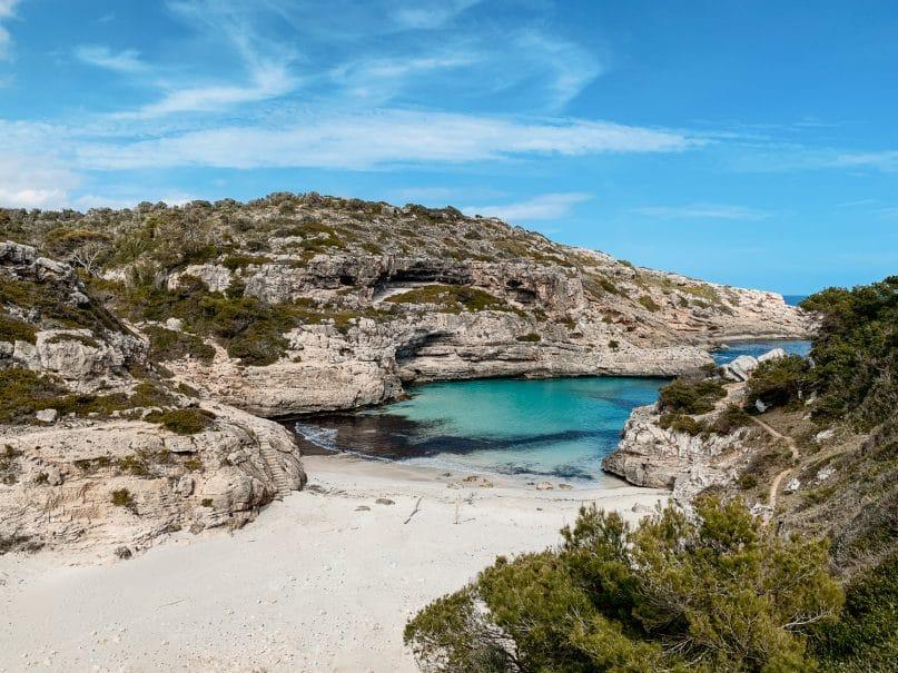 Cala Marmols Wanderung zur Bucht - Ausflugsziele Mallorca