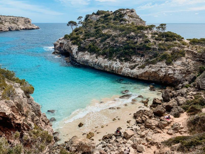 Mallorca Sightseeing: Calo des Moro Bucht