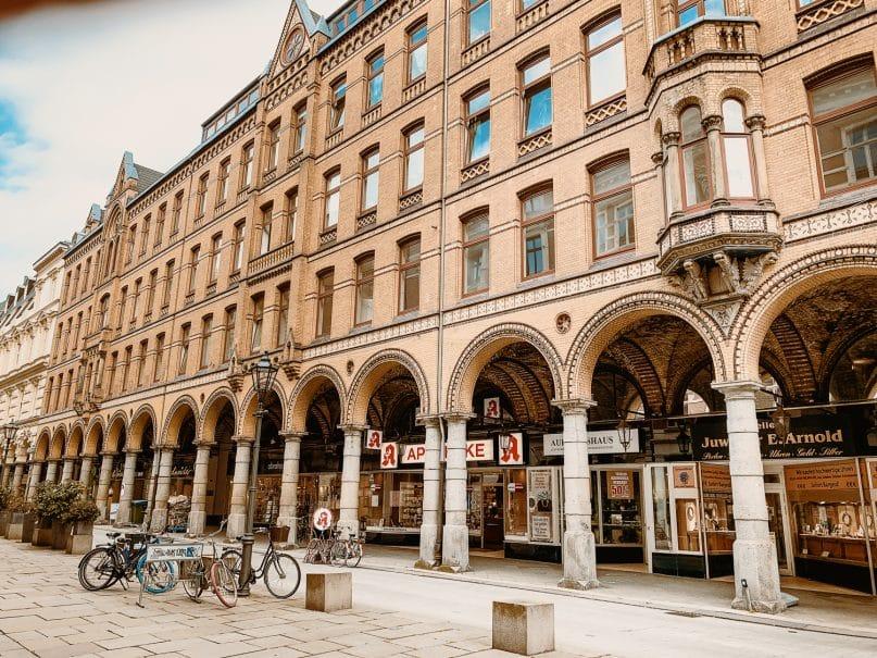 Colonnaden - Hamburg Sehenswürdigkeiten