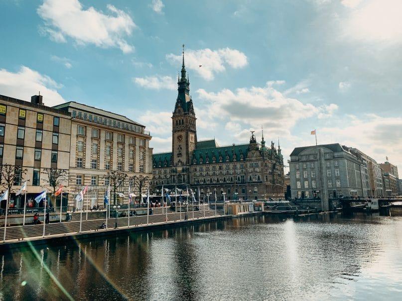 Jungfernstieg - Hamburg Sehenswürdigkeiten