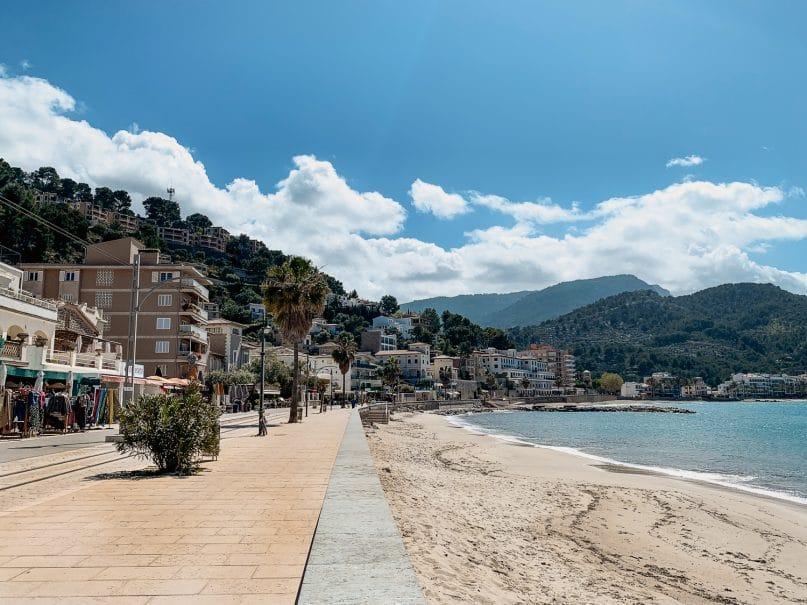 Mallorca schönste Strände: Platja d'en Repic in Port de Soller