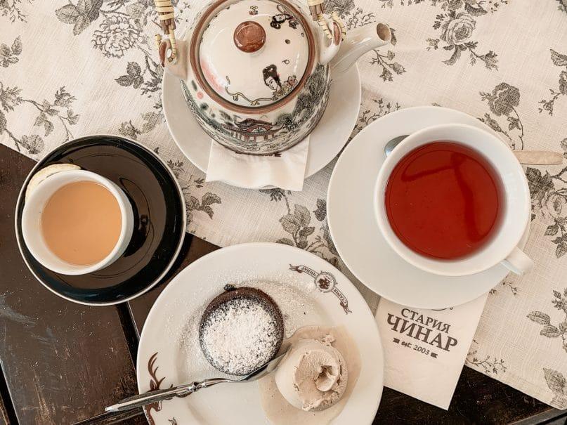 Landestypisches Essen in Bulgarien: Dessert und Tee
