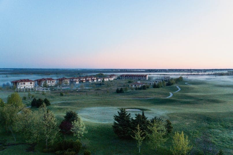 Lighthouse Golf and Spa Hotel in Bulgarien - Golfplatz