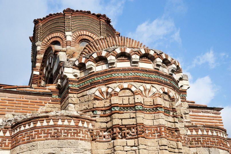 Nessebar - Kirche in der Altstadt von Bulgarien