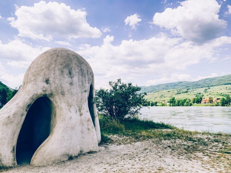 Niederösterreich Urlaub: Donauregion auf dem Donauradweg Wachauer Nase