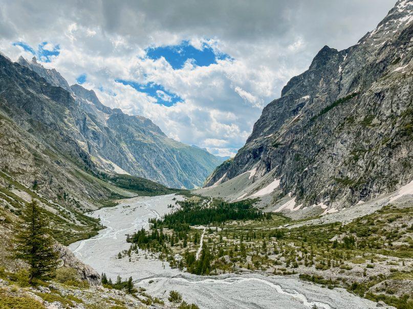 Wanderung zum Refuge de Glacier Blanc im Ecrins Nationalpark