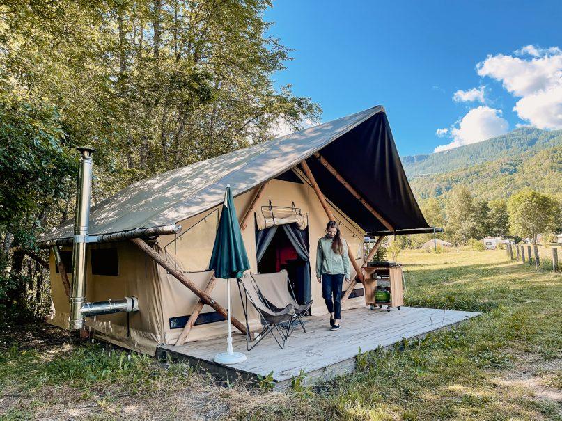 Huttopia Erfahrungen: Camping in Südfrankreich - oder eher Glamping?