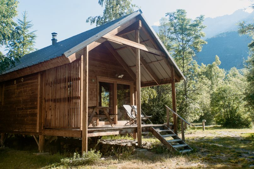 Huttopia Erfahrungen: Campingplatz Vallouise Holzhütten