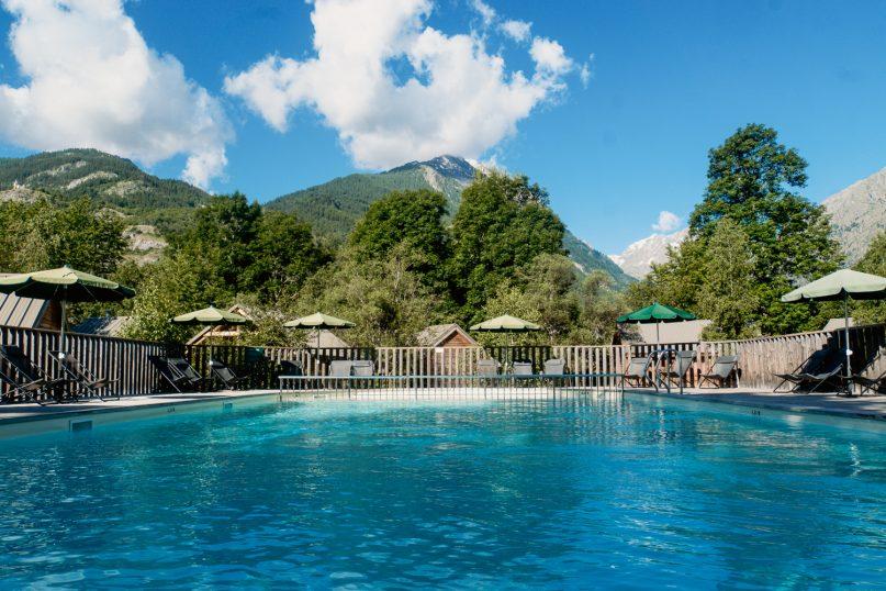 Huttopia Erfahrungen: Campingplatz Vallouise Pool