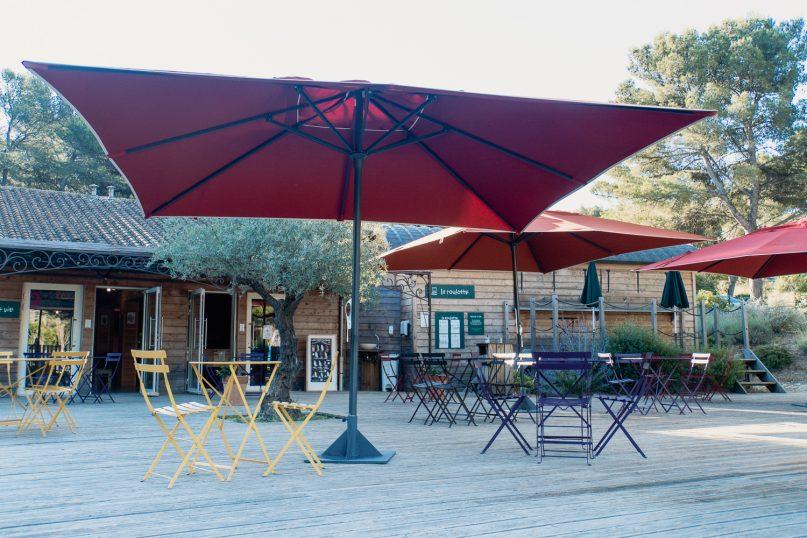 Huttopia Fontvieille Campingplatz: Gemeinschaftsbereich