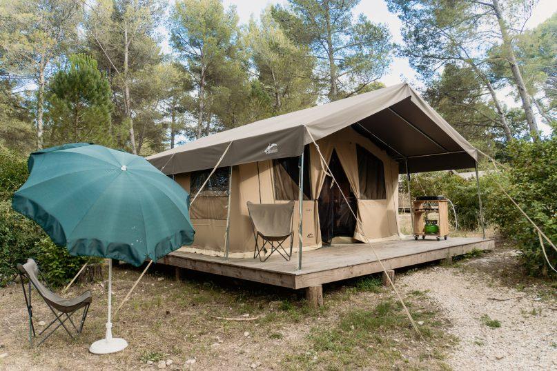 Huttopia Fontvieille Campingplatz: Sweet Zelt