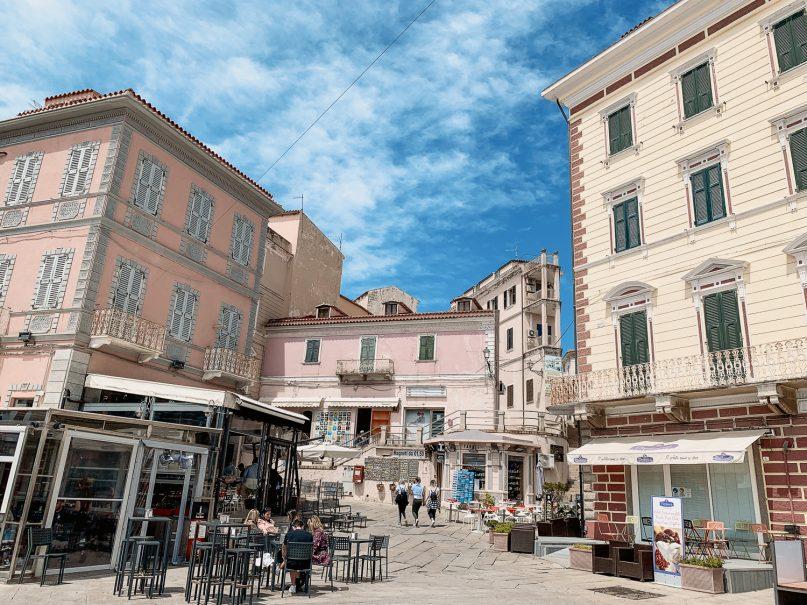 La Maddalena Sardinien Altstadt
